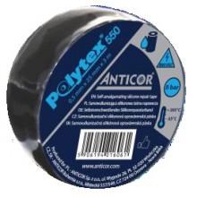 ANTICOR POLYTEX 550 silikonová páska 25mm, 3m, samosvařitelná, černá
