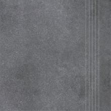 RAKO FORM schodovka 33x33cm, tmavě šedá