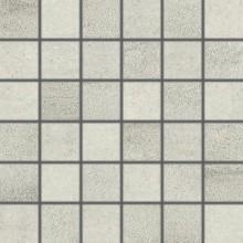 Dlažba Rako Cemento mozaika 5x5 (30x30) cm šedo-béžová