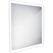 NIMCO koupelnové zrcadlo 600x600m, podsvícené LED, hliník