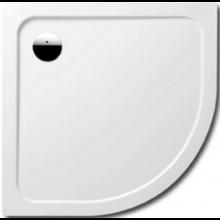 KALDEWEI ARRONDO 870-1 sprchová vanička 900x900x25mm, ocelová, čtvrtkruhová, R550, bílá 460000010001