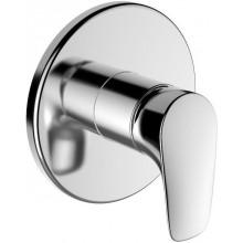 LAUFEN CURVEPLUS vrchní díl sprchové baterie, podomítková, chrom