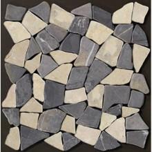 RAKO STONE MOSAIC kamenná mozaika 30x30cm, lepená na síťce, palladiana mix