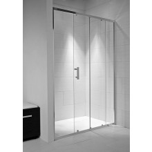 Zástěna sprchová dveře Jika sklo Cubito pure 100x195 cm transparentní