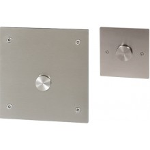 SANELA SLW03PA piezo splachovač WC, 24V DC, na tlakovou vodu, s druhým tlačítkem pro oddálené spláchnutí, pro tělesně handicapované, antivandal