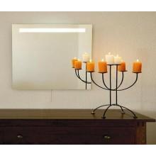 AMIRRO LUNA koupelnové zrcadlo 70x80cm, s LED osvětlením