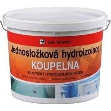 DEN BRAVEN KOUPELNA jednosložková hydroizolace 2,5kg, elastická, medově hnědá