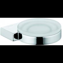 KLUDI A-XES miska na mýdlo Ø120mm, chrom/sklo