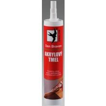 DEN BRAVEN akrylový tmel 310ml, šedá