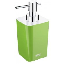NIMCO ELI dávkovač na tekuté mýdlo 75x90x167mm zelená/chrom EL 3031-70