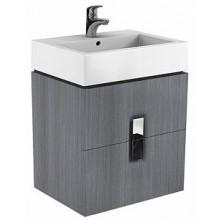 KOLO TWINS skříňka pod umyvadlo 60x57cm závěsná, stříbrný grafit 89493000