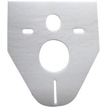 CONCEPT izolační deska 372x5x422mm pro závěsné WC a bidet, bílá