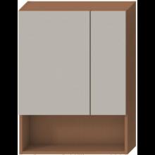 JIKA LYRA zrcadlová skříňka 600x132x800mm, třešeň 4.5324.1.038.308.1