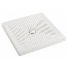 KOLO ABELE sprchová vanička 90x90cm čtvercová, s profilovým dnem, keramická, bílá XBK1290000