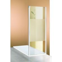 Zástěna sprchová boční Huppe sklo 501 Design 900x1900 mm bílá/čiré