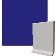 RAKO COLOR TWO sokl 10x10cm, s požlábkem, tmavě modrá