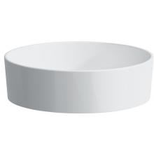 Mísa umyvadlová Laufen bez otvoru Kartell By 42 cm bílá