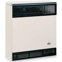 KARMA BETA 3 ELECTRONIC 01 plynové topidlo 3kW závěsné, spínací hodiny, odtah přes zeď, slonová kost