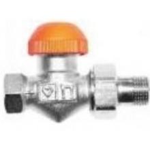 """HERZ TS-98-V termostatický ventil 3/8"""" přímý, s plynulým přednastavením a číselnou stupnicí"""