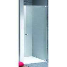 Zástěna sprchová dveře Huppe sklo Studio Paris 900x2000mm matný chrom/Karo AP