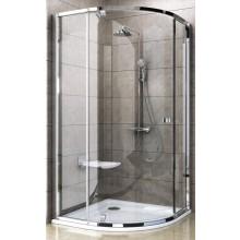 RAVAK PIVOT PSKK3 90 sprchový kout 900-900x1900mm čtvrtkruhový, bright alu/chrom/transparent 37677C00Z1