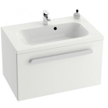 RAVAK CHROME SD 700 skříňka 700x490x470mm pod umývátko, s-onyx/bílá X000000533
