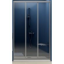 Zástěna sprchová dveře Ravak plast ASDP3 1000x1880 mm satin/pearl