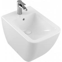 VILLEROY & BOCH VENTICELLO stojící bidet 375x560x400mm, s přepadem, bílá Alpin Ceramic Plus
