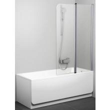 Zástěna vanová Ravak - CVS2 -pohyblivá dvoudílná 990x1500 mm bílá/transparent