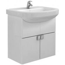 Nábytek skříňka s umyvadlem Kolo Primo 60x62,5x32,5 cm lesklá bílá, lakovaná