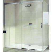 Zástěna sprchová dveře Huppe sklo Aura elegance 1200x1900 mm stříbrná matná/čiré AP