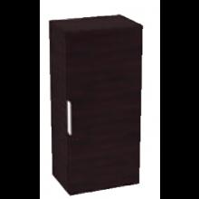 JIKA CUBE skříňka 345x250x800mm, střední, tmavý dub/bílá