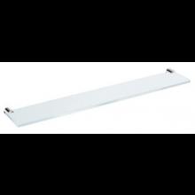 JIKA BASIC skleněná polička 57x10x2cm, včetně držáků, chrom