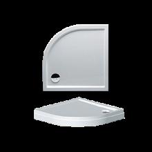 Vanička plastová Riho(JVP) obdélník DAVOS 275 DA7500500000000 DA 75 s nohami a panelem 120x80x4,5cm bílá