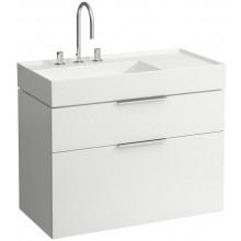 KARTELL BY LAUFEN skříňka pod umyvadlo 895x455x615mm, 2 zásuvky, bílá