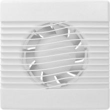 HACO AV BASIC 100 T axiální ventilátor prům. 100mm, stěnový, s časovým doběhem, bílý