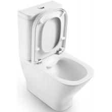 WC mísa Roca odpad vario The Gap kombi, bez nádžky  bílá