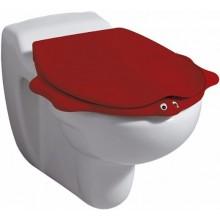KERAMAG NOVA PRO JUNIOR dětské sedátko, s automatickým pozvolným sklápěním, motiv zvířátka, červená 573368000