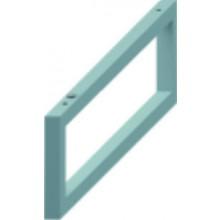 Příslušenství k nábytku Jika - Cubito podpěra nastavitelná  stříbrná