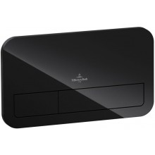 VILLEROY & BOCH VICONNECT M200 ovládací tlačítko 269x13x161mm, Glass Glossy Black