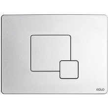 KOLO GRID ovládací tlačítko 24x18x0,8cm, matný chrom 94173003