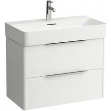 LAUFEN BASE skříňka pod umyvadlo 733x391x515mm, 2 zásuvky, bílá lesk