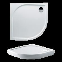 Vanička speciální Riho(JVP) čtvrtkruh Kolping DB18 DB1800500000000 vč.sifonu 100x100x3cm bílá