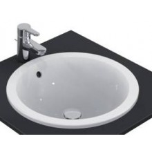 Umyvadlo zápustné Ideal Standard bez otvoru Connect 48x48x17,5 mm bílá