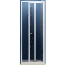 RAVAK SUPERNOVA SDZ2 70 sprchové dveře 670-710x1850mm dvojdílné, zalamovací, bílá/transparent 01V10100Z1