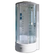 Box parní Jacuzzi Flexa Tower ELT9 90x90 cm bílá/chrom
