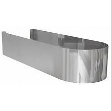 Příslušenství k sifonům Kolo - Domino krytka sifonu 11,5x25,5 mm ušlechtilá ocel