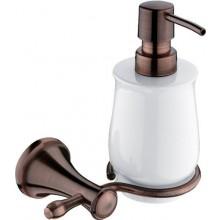NIMCO LADA dávkovač 300ml, na tekuté mýdlo, staroměď/sklo