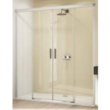 Zástěna sprchová dveře Huppe sklo Design elegance 1600x2000mm stříbrná lesklá/čiré AP