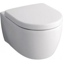 WC závěsné Keramag odpad vodorovný iCon s Alessi splachováním 6l bílá+KeraTect